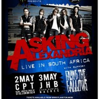 Asking Alexandria Live in South Africa